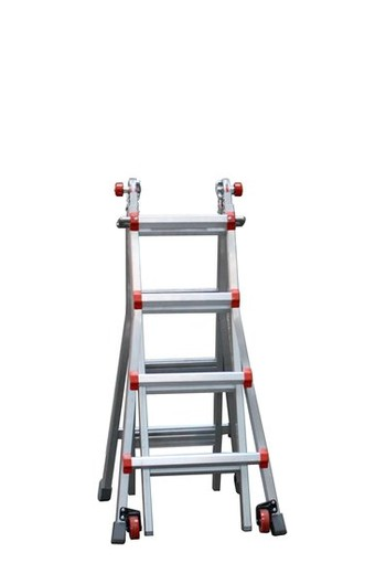 Telescoopladder 4,2m 4x4 Little Giant