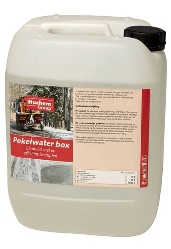 Pekelwater - Can 10L - strooizout oplossing